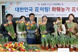 화훼농가 어려움 돕는 '도花선' 프로젝트