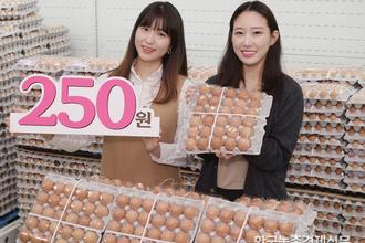 달걀 한 판에 '250원(?)'...소비촉진 기대