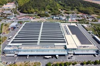 밀양농산물물류센터도 '태양광발전' 가동